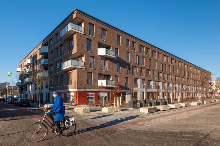 Klimaatneutrale wijk Stadstuin Overtoom | RVO.nl
